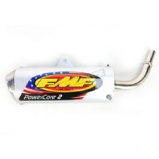 83-18 PW50 POWERCORE 2 PIPE FMF 024036 EXHAUST SILENCER